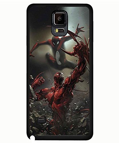 Galaxy Note 4 Case, Venom Spider Man Cartoon Theme Protective Snap-on Case Cover Fit for Samsung Galaxy Note 4