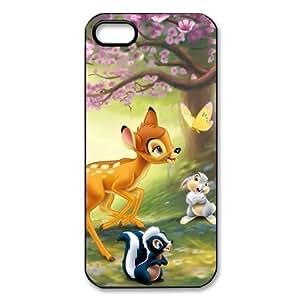 Customize Cartoon Disney Bambi Back Case for iphone 5 5S