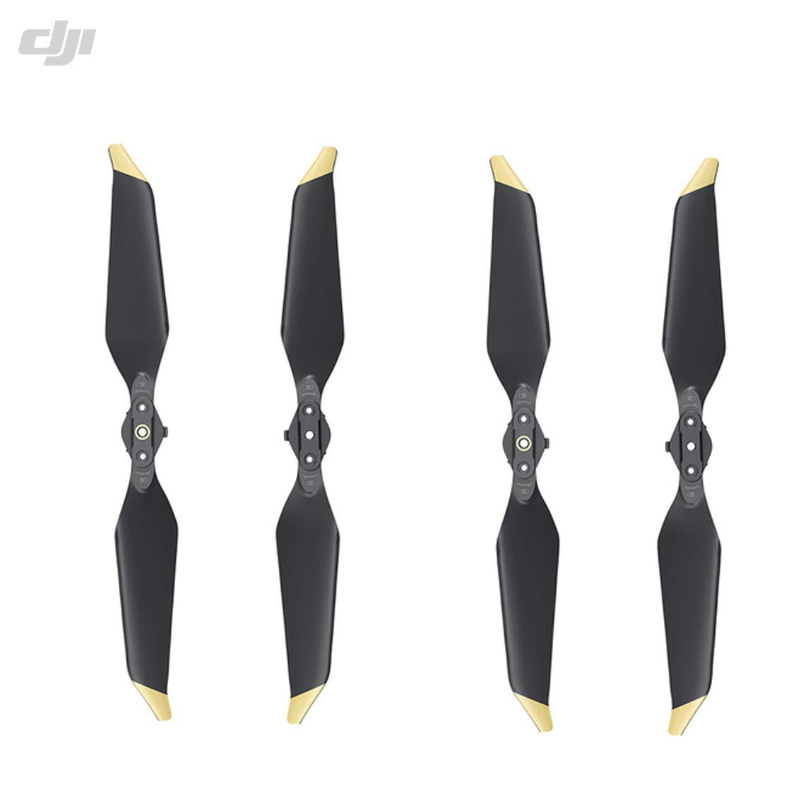 DJI Genuine Low-Noise Quick-Release 8331 Propellers for Mavic Pro or Mavic Pro Platinum 2 Pairs Gold