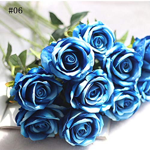 Dds5391 New 1Pc Artificial Fake Rose Flower Garden Home Wedding Bridal Party Decoration - 6# from dds5391