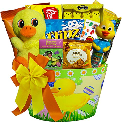 Rabbit Assorted Jelly Beans - Lucky Duck Easter Gift Basket with Chocolate and Candy Treats