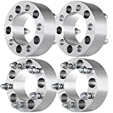 "ECCPP Wheel Spacers 4PCS 2"" 5x4.5 to 5x4.5 for Jeep Liberty Wrangler Cherokee Grand Cherokee & More With Thread Pitch 1/2"