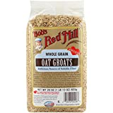 Bob's Red Mill - Whole Grain Oat Groats, Delicious Source of Fiber, 29 Ounces