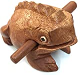 """Wooden frog instrument large size 8""""X 3""""X"""