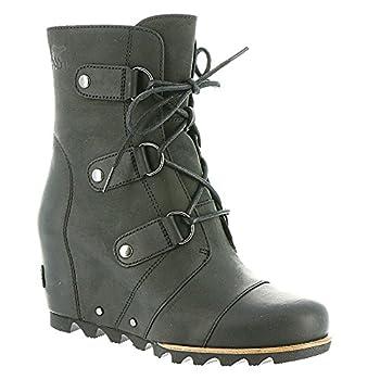 Sorel Women's Joan Of Arctic Wedge Booties, Black, 10 B(m) Us 3