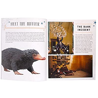 Fantastic Beasts and Where to Find Them Niffler Book and 3D Wood Model Figure Kit - Build, Paint and Collect Your Own Wooden Toy Model - Great for Kids and Adults, 8+ - 3