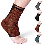 Cambivo Ankle Support Brace, Ankle Sleeve Plantar Fasciitis Socks, Fit for Ankle Sprain