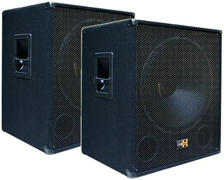 "2000 WATT 15/""//38 cm  DJ musiker Pa LAUTSPRECHERBOX  Lautsprecherständer aktion"