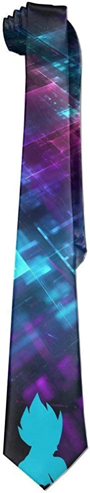 Mens Vegeta Dragon Ball Z Necktie Skinny Ties/New Novelty Necktie ...