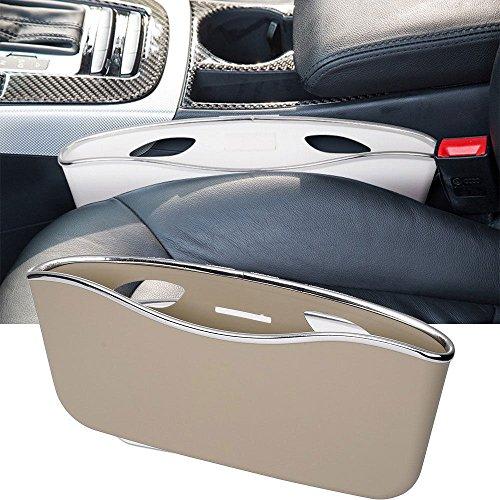 Mini Overhead Door (NEW 1x Car Seat Holder utensil Storage Box Organizer Container Dustbin Bag Slit Pocket Beige color Free shipping)