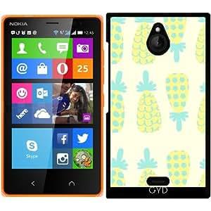 Funda para Nokia X2 - Patrón De La Piña by Luizavictorya72