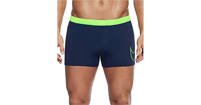 e7caf7eaca Amazon.com : NIKE Men's Metro Stretch Short Swim Trunks Large ...