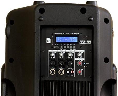 JB Systems PPA121 Enceinte active 12 Noir