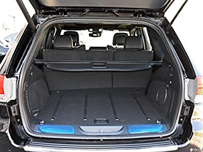 Cargo Cover for 11-17 Jeep Grand Cherokee Trunk Shielding Shade By Kaungka (Not Fit for Jeep Cherokee)