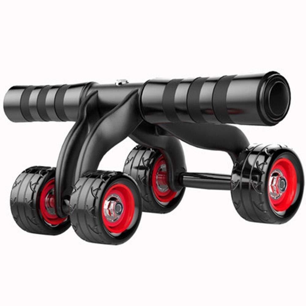 Olydmsky Wheel Bauchtrainer Gesunder Bauch Rad ABS Rad männliche Dame Silikon Rad Push Rad Fitnessgeräte