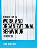 Introduction to Work and Organizational Behaviour 3rd Edition