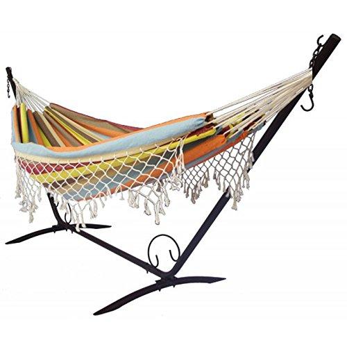 hammock relaxation   support hamac double fringe  amazon co uk  garden  u0026 outdoors hammock relaxation   support hamac double fringe  amazon co uk      rh   amazon co uk