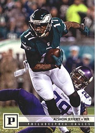 3db02d1486f 2018 Panini NFL Football  240 Alshon Jeffery Philadelphia Eagles Official  Trading Card