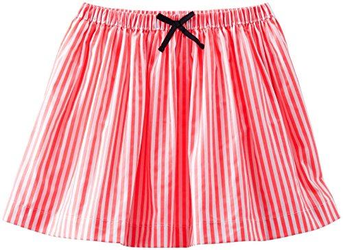 Striped Woven Skirt (OshKosh B'gosh Striped Woven Skirt (Toddler/Kid) - Coral-4T)