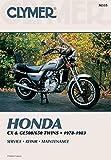 Clymer - Honda CX/GL 500-650 78-83 M335 PU