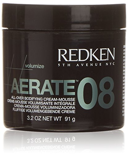 Redken Aerate 08 All-Over Bodifying Cream Mousse, 3.2 Ounce