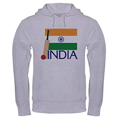 a9c3472d59 Amazon.com: CafePress Cricket India Pullover Hoodie, Hooded ...