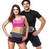 TecUnite 2 Pieces Running Belt Fanny Pack Sport