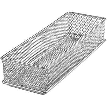 Amazon Com Ybm Home Silver Mesh Drawer Cabinet And Or