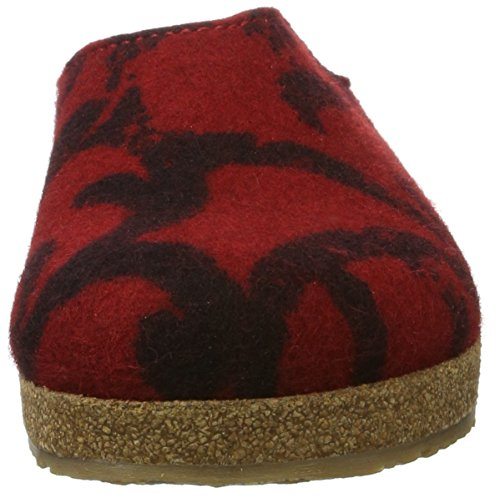 Haflinger Grizzly Onda - Zapatillas Unisex adulto Rot (Rubin)