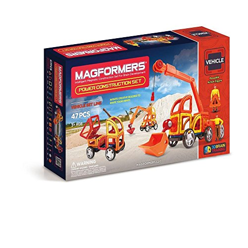 Magformers Vehicle Power Construction Set - With Wheels Magformers