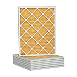 Tier1 Replacement for 14x24x1 Merv 11 Pleated Ultra Allergen AC Furnace Air Filter 6 Pack