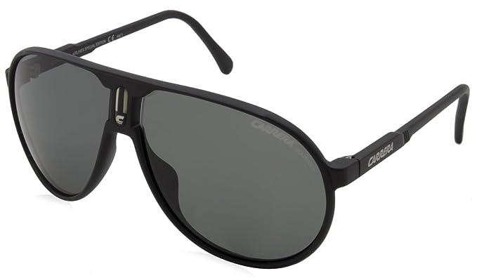 3b0eeb8615 Carrera Sunglasses Champion DL5 Y2 Matt Black Grey Polarized  Amazon.co.uk   Clothing
