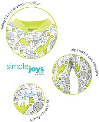 Simple Joys by Carter's Baby 2-Pack Cotton Footed Sleep and Play by Simple Joys by Carter's that we recomend personally.