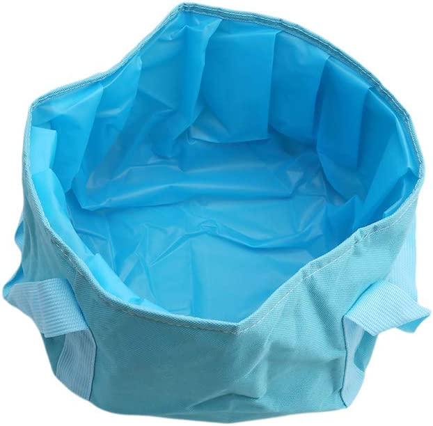 LZ Multifunctional Collapsible Folding Bucket Portable Travel Outdoor Wash Basin for Camping Hiking Travelling Fishing Washing Footbath
