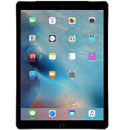 Apple iPad Pro 12.9-Inch 256GB Factory Unlocked (Wi-Fi + Cellular 4G LTE, Apple SIM Card) Space Gray - Newest Version