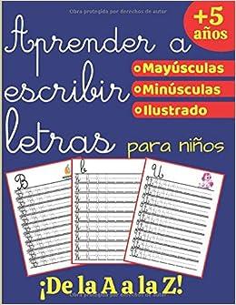 Aprender a escribir Letras: Libro de actividades para