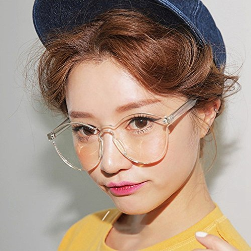 de del Casual vidrios Manera Mujeres de la de del Gafas de Yukun Color sol Sol Planos Las los de Gafas UN Caramelo C Uv400 WaqTnnU86