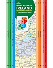 Map of Ireland Handy: Ideal for route planning