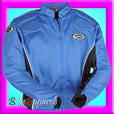 Touring Magnesium (Fm11 AIR Mesh Motorcycle Summer Touring Jacket Blue 46)