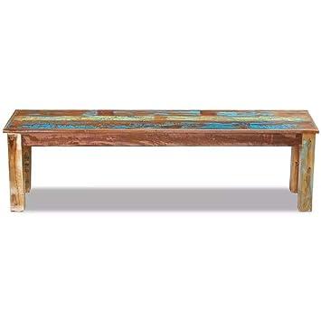 Magnificent Amazon Com Tidyard Vintage Wood Bench Antique Handmade Evergreenethics Interior Chair Design Evergreenethicsorg