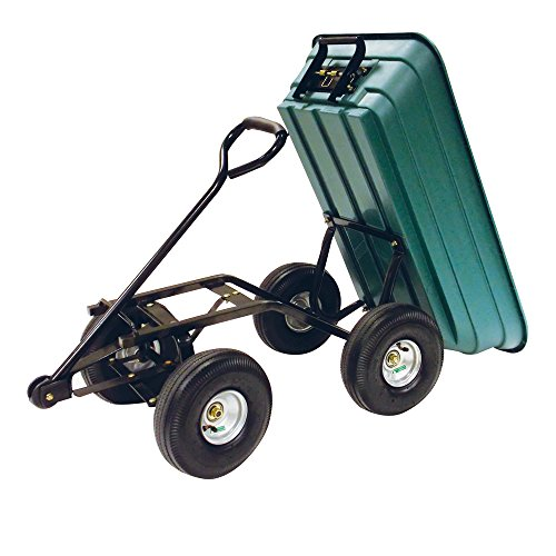 Precision LC2000 Capacity Mighty Garden Yard Cart, 600-Pound by Unknown (Image #1)