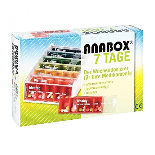 ANABOX 7 Tage Regenbogen 1 St