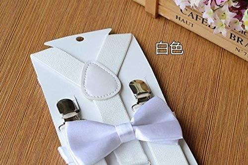 Beitsy Suspenders unisex elásticos ajustables con corbata de lazo ...