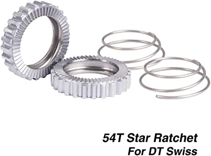 Set Star Ratchet For DT Swiss Springs Wheel Cycling 54T Hub Replacement