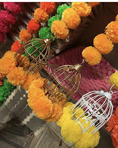 Agaas Enterprises Decorative Cage Style Door Toran for Festival/Diwali Lighting Tea Candle Holder for Door Decoration…