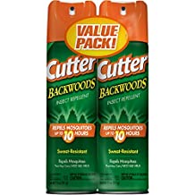Cutter Backwoods Insect Repellent (Aerosol) (HG-96283) (Twin Pack)