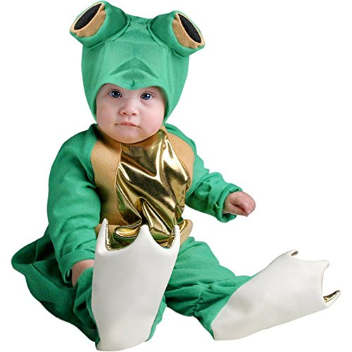 [Unique Infant Baby Frog Animal Costume (6-18 Months)] (18 Month Frog Costume)