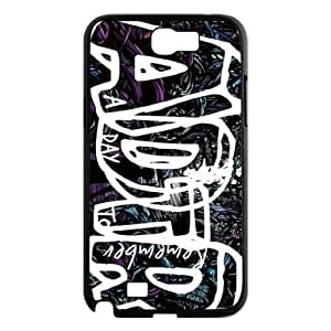 A Day To Remember DIY Cover Case for Samsung Galaxy Note2 N7100,A Day To Remember custom cover case WANGJING JINDA