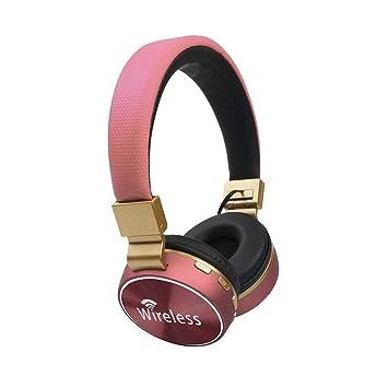 Luerme Auriculares Bluetooth Auriculares estéreo inalámbricos con micrófono Función de Radio FM para el teléfono móvil