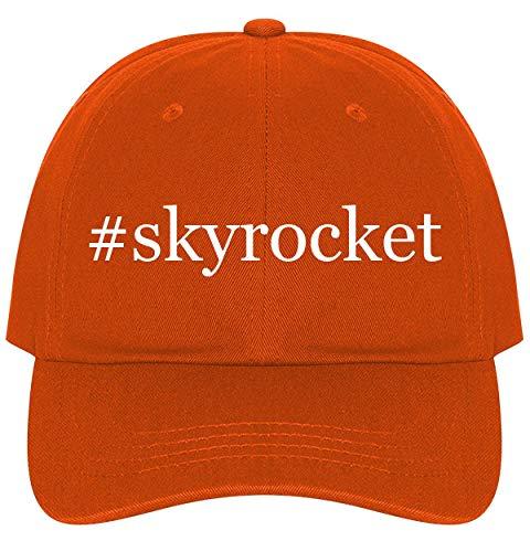 The Town Butler #Skyrocket - A Nice Comfortable Adjustable Hashtag Dad Hat Cap, Orange (Skyrocket Samsung Accessories)
